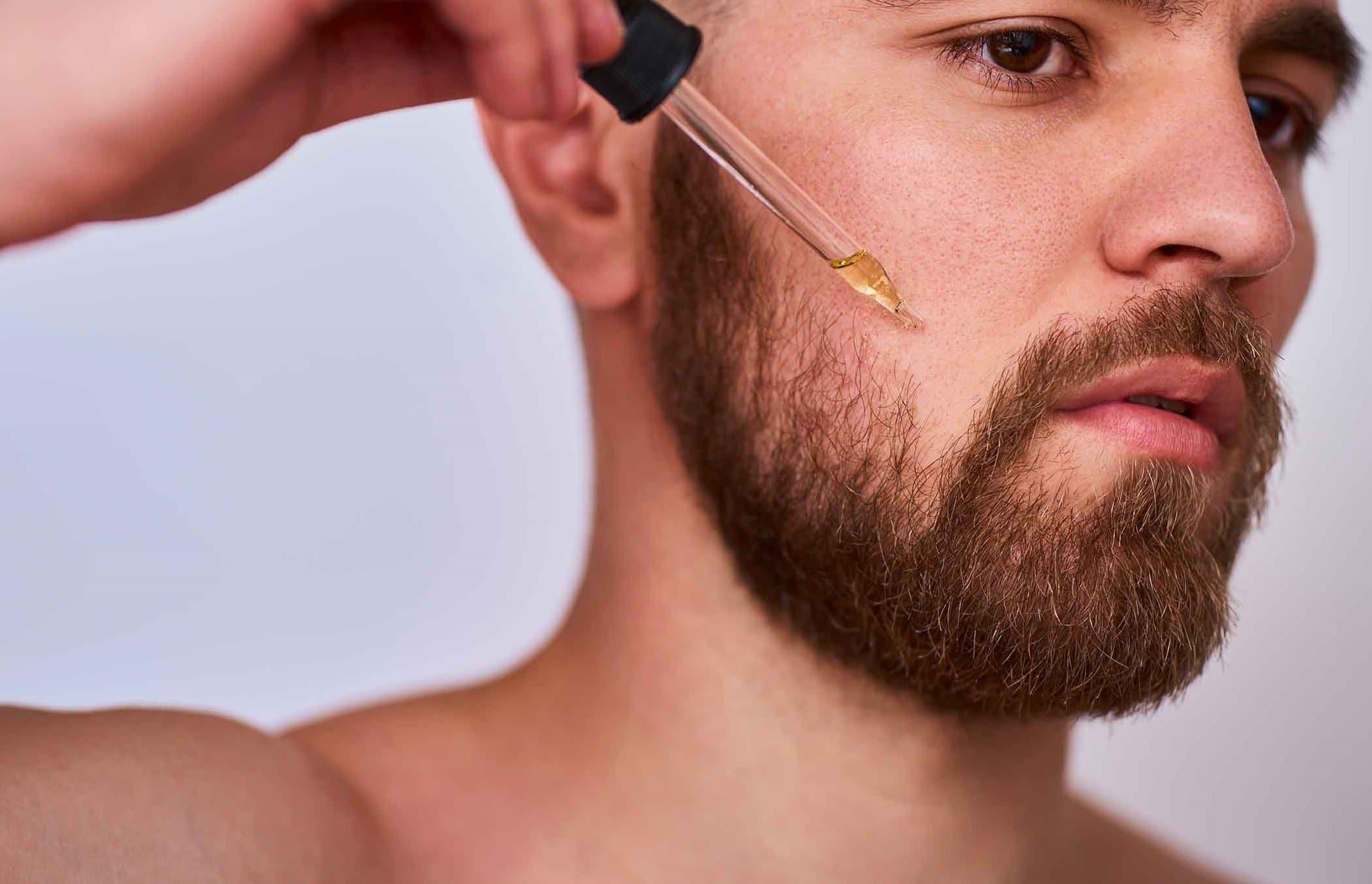 huile pour faire pousser barbe