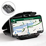 Cocoda Mobile Car Holder, Mobile Car Holder Dashboard (facile à ouvrir et rangeable), Car GPS Phone Holder Compatible pour iPhone 11 Pro MAX/XS MAX/XR/XR/8/7, Samsung et plus