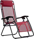 AmazonBasics Chair Gravity Zero, Bordeaux
