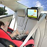 Support de voiture pour iPad TFY Support d'appui-tête de voiture pour iPad avec maille de silicone pour supporter les téléphones portables de 4,5 à 6 pouces et les tablettes de 7 à 10,5 pouces