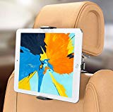 Bovon Car Tablet Holder, Car Headrest Tablet Holder, Universal 360° Swivel Rear Seat Holder, pour iPad Air/Pro, iPhone 11 Pro Max/XS MAX/X, Nintendo(5.5'-13')