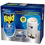 Raid - Diffuseur électrique Protection+ Common et Tigre Anti-Moustiques, 60 Nuits, diffuseur + recharge