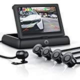 Système de détection d'aide au stationnement - Caméra de recul pour voiture - Système de vision de stationnement - Écran TFT