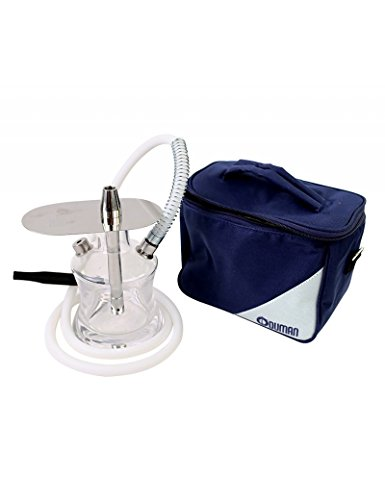 Fumer J'espère Shisha - Oduman N2 Travel Glass Buggy (15 cm) + Carrying Case