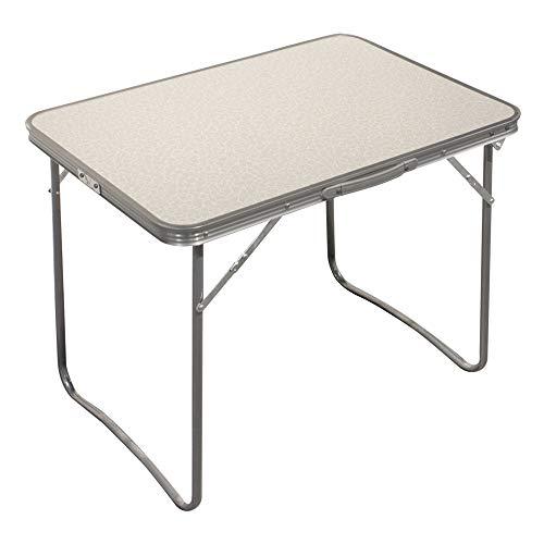 Aktive 52814 Table pliante Camping Sport, 80 x 60 x 70 cm Blanc