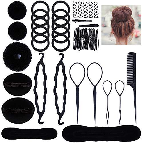 Ensemble d'accessoires capillaires pour femmes Lictin ; ensemble de création capillaire