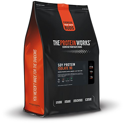The Protein Works Protéine de soja 90 (isolée), 66 portions, non aromatisée - 2 kg