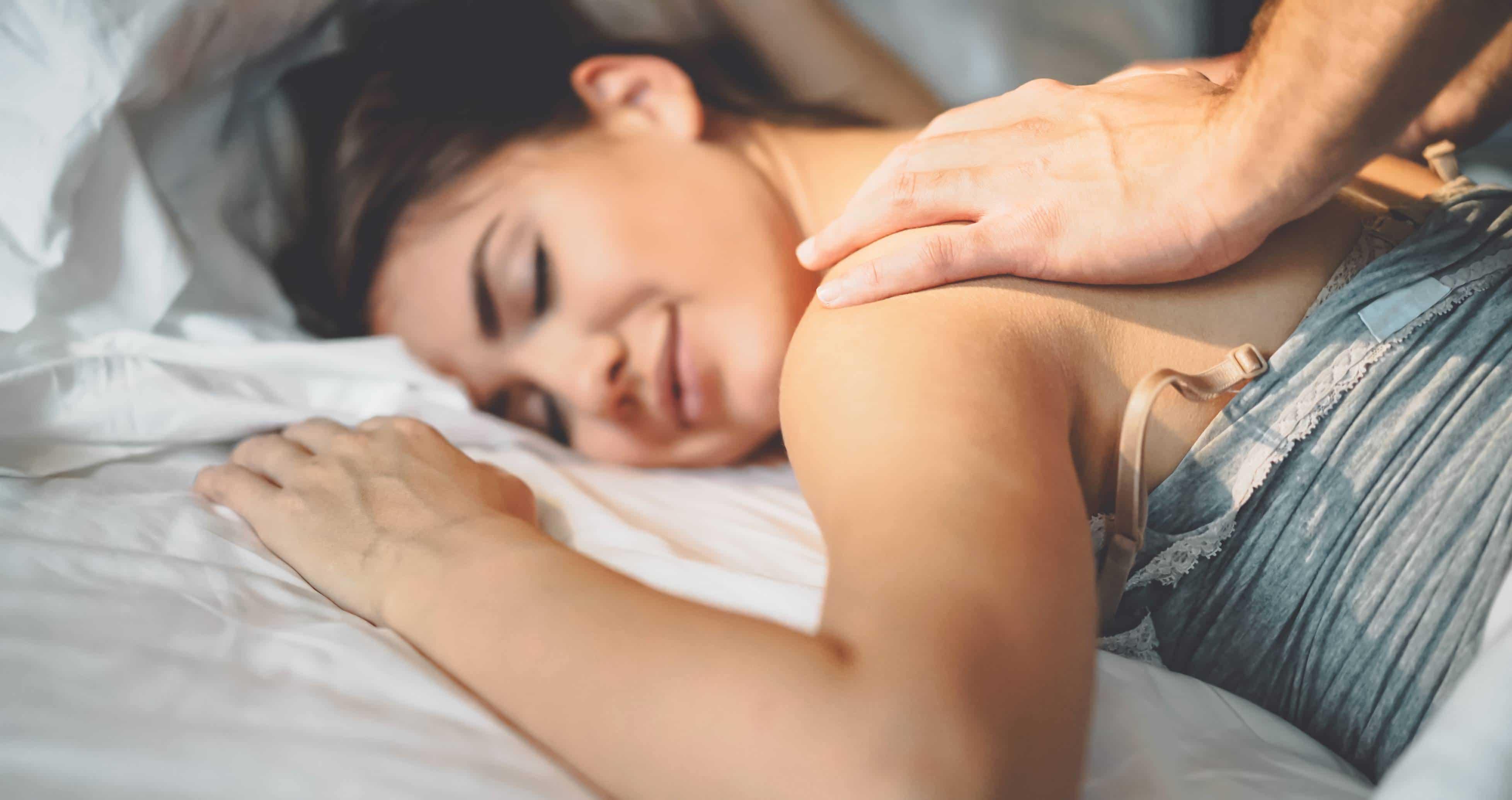 massage sensuel huile de massage couple